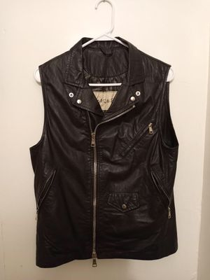 Sexy Leather Biker Vest (Size 36 USA) for Sale in Los Angeles, CA