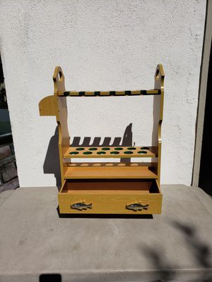Fishing rod stand for Sale in Pomona, CA