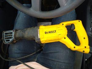 DeWalt 10amp reciprocating saw for Sale in Prattville, AL
