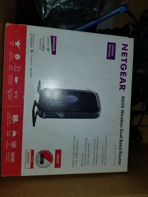 Netgear N600 Wireless Dual Band Router for Sale in Katy, TX