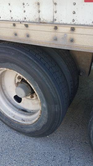 semi tire and rim for Sale in Riverside, IL