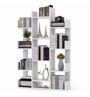 Tribesigns Modern Tree Shaped 12-Shelf bookcase for Sale in Tulare, CA