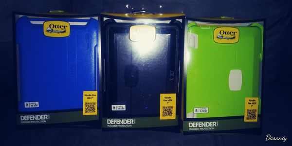 Otter box tablet case for Kindle Fire HD 7 in