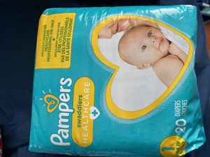 New Pampers, New clipper, newborn belly button protectors. for Sale in Garden Grove, CA