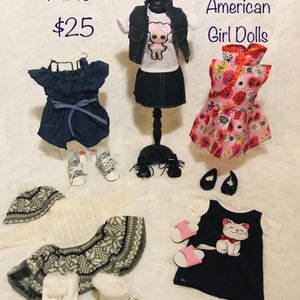 "New! Set of 18"" Doll Clothes for Sale in West Chicago, IL"