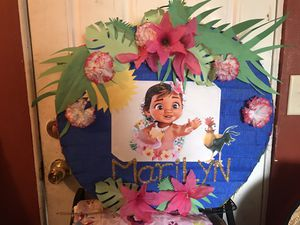 Baby Moana pinata for Sale in West Palm Beach, FL