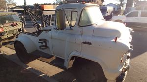 1956 Chevy Cabover 5100 Tow Truck for Sale in Corona, CA