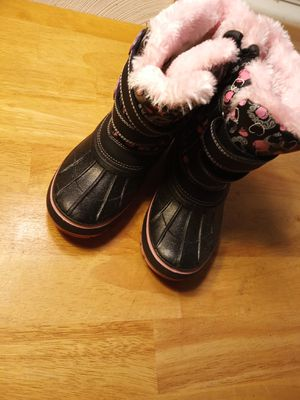 Dream Paris girls snow boots size 13 for Sale in Portsmouth, VA