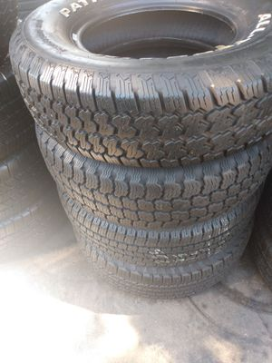 Set tires 235/75/R15 PATHMAX ALL-TERRAIN for Sale in Downey, CA