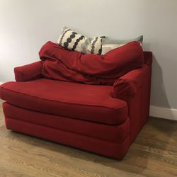 Red Lazboy Loveseat Sofa Couch for Sale in Beltsville,  MD