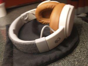 Skullcandy - Crusher Wireless Over-the-Ear Headphones - Gray/Tan for Sale in Avondale, AZ