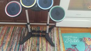 Wii Drum set with foot petal for Sale in St. Louis, MO