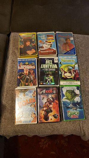 Brand New VHS Classic Movies for Sale in Arlington, WA