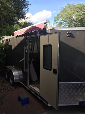 2018 cargo trailer camper for Sale in Cary, NC