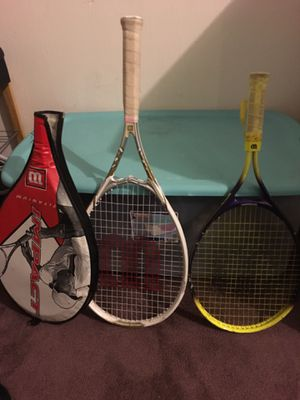 Tennis rackets for Sale in New Franklin, OH