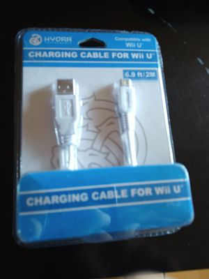 Nintendo Wii U charging cable for Wii u pad for Sale in San Diego, CA