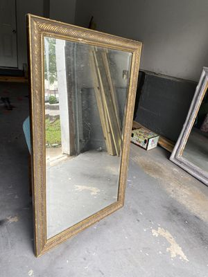 Golden Antique Mirror for Sale in Ellenwood, GA
