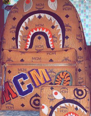 Bape MCM Backpack & Wallet for Sale in Seattle, WA