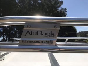 AluRack aluminum truck rack (CAMPER NOT INCLUDED) for Sale in Oakland, CA