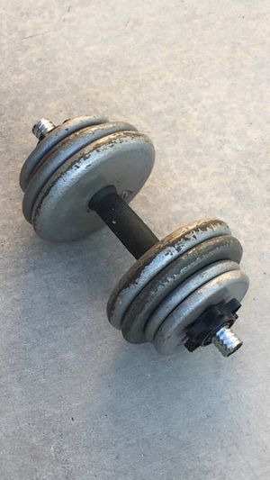 One Adjustable Weight Dumbbell for Sale in Las Vegas, NV