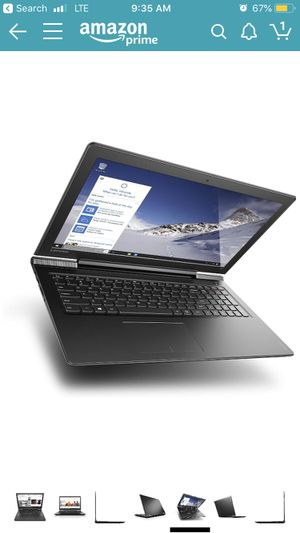Lenovo ideapad 700 laptop. I5, 256 SSD, dedicated nvidia graphics card for Sale in Artesia, CA