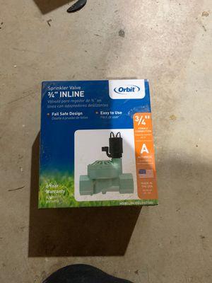 Sprinkler valve for Sale in Seattle, WA