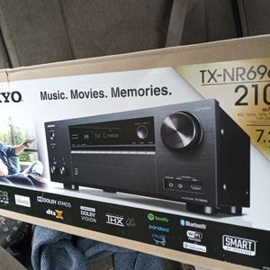 Tx-nr696 Onkyo Amp. Can for Sale in Union City, CA