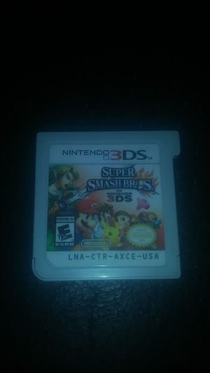 Super Smash Brothers for 3DS for Sale in Merced, CA