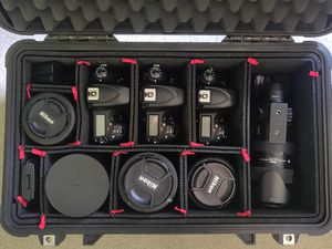 Full Nikon Wedding Photography Kit with Lighting Kit for Sale in Irvine, CA