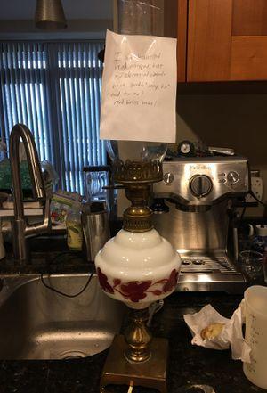 antique lamp -needs new electric kit for Sale in Alexandria, VA