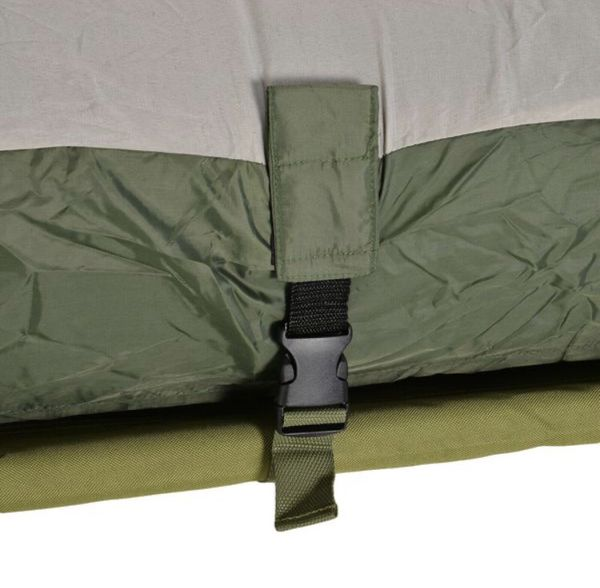 🔥 Brand New Single Portable Camping Tent Bed Cot w/Sleeping Bag Air Mattress Outdoor Use