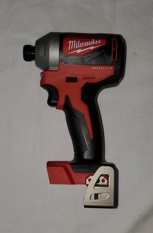 Milwaukee M18 2850-20 18-Volt 1/4-Inch Brushless Impact Driver - Bare Tool for Sale in Los Angeles, CA