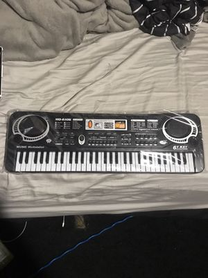 61-key Keyboard Brand new/Never used! Musical instrument for Sale in Waterbury, CT
