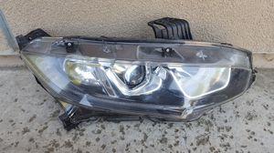 16 17 18 19 HONDA CIVIC RIGHT PASSENGER HEADLIGHT HEAD LIGHT LAMP OEM for Sale in Sacramento, CA