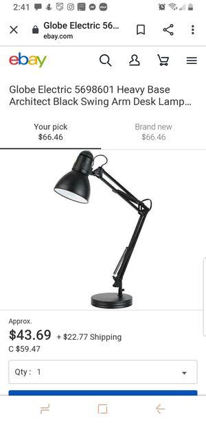 NEW Desk lamp brand Globe/No delivery for Sale in Delano, CA