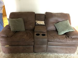 3 Piece Sectional microfiber couch-located Modesto for Sale in Manteca, CA