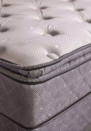 Queen pillow top mattress set for Sale in Austin, TX