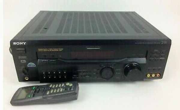Sony STR-DE945 Surround Sound Receiver and Remote RM-LJ304 Tested Working