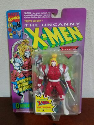 Omega Red The Uncanny X-Men Marvel Comics ToyBiz RARE VINTAGE COLLECTABLE Action Figure for Sale in Thonotosassa, FL