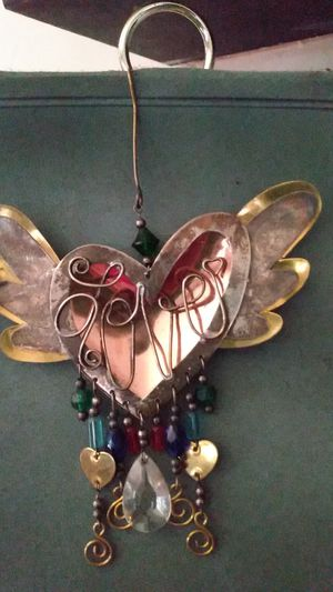 2 Sided Metal Love Hanging Ornament for Sale in Bakersfield, CA