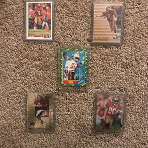 49ers Football card Lot (Jerry Rice Rookie**) for Sale in SeaTac, WA