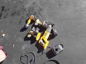 Dewalt power tools 18 v for Sale in Fort Lauderdale, FL