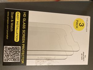 iPhone XR/11 HD Glass Screen Protector x3 for Sale in Bismarck, ND
