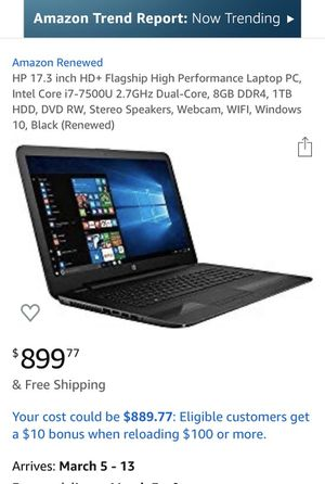 Hp notebook for Sale in San Pedro, CA