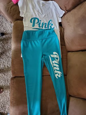 Teal PINK legging set for Sale in Amarillo, TX