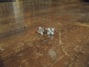 Princess Cut Ear Rings for Sale in Concord, VA
