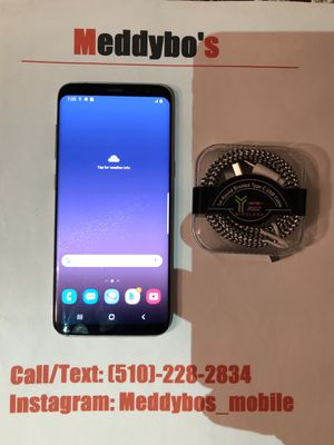 Samsung Galaxy S8 silver (factory unlocked) Excellent Condition for Sale in Oakland, CA