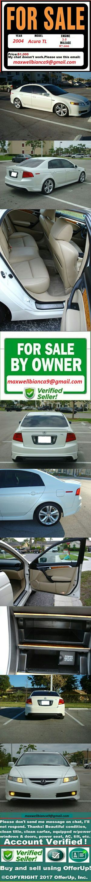 PowerAutomatic Acura TL 2004 Perfect Condition for Sale in Washington, DC