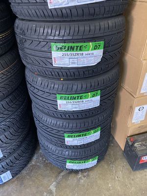 255/35R18 SET OF 4 TIRES ON SALE for Sale in Lafayette, CA
