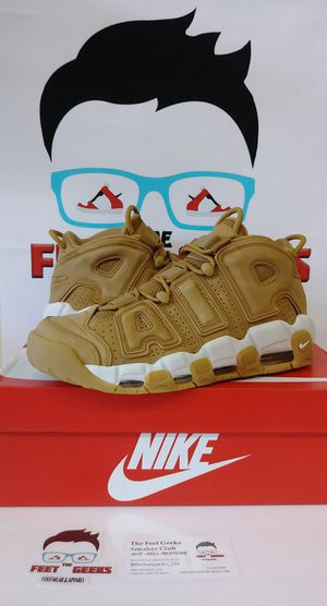 NIKE AIR MORE UPTEMPO 96 WHEAT MENS SHOES SIZES 10.5 & 11 NWB $150 for Sale in Cleveland, OH
